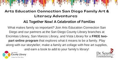 AECsd Family Art & Literacy Adventures Artmaking tickets