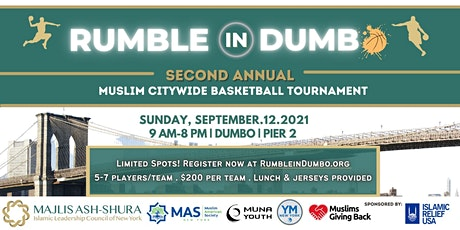 Rumble in Dumble - Second Annual Muslim Basketball Tournament tickets