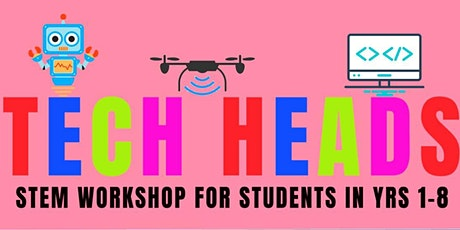 Tech Head Kids STEM Workshop 2 Monday 4 October 2021 tickets
