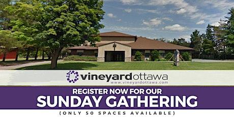 Vineyard Ottawa Sunday Gathering tickets