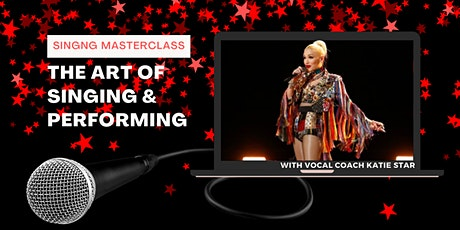 Singing Masterclass- The Art of Performing tickets