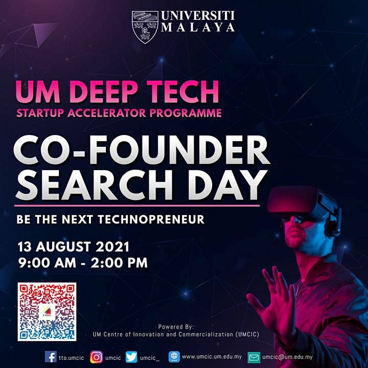 UM Deep Tech Startups Co-Founder Search Day 2021 image