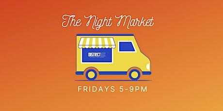 The Night Market tickets