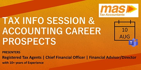 Tax Info Session & Accounting Career Prospects tickets