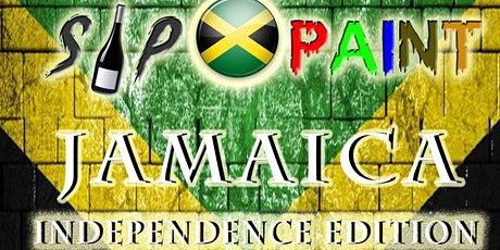Jamaican Independence  Sip n Paint tickets