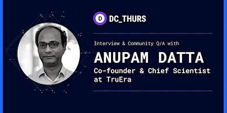 DC_THURS on ML Quality & Monitoring w/ Anupam Datta (TruEra) tickets