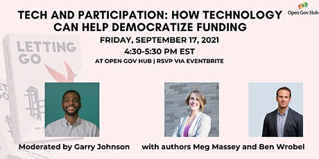 LIVE BOOK EVENT: How Technology Can Help Democratize Funding tickets