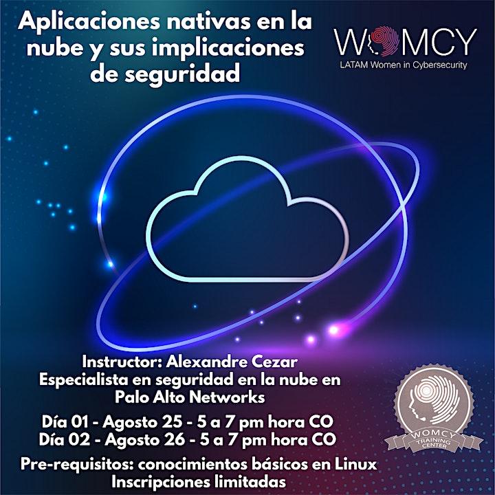 Imagen de Aplicaciones nativas en la nube y sus implicaciones de seguridad – By WOMCY