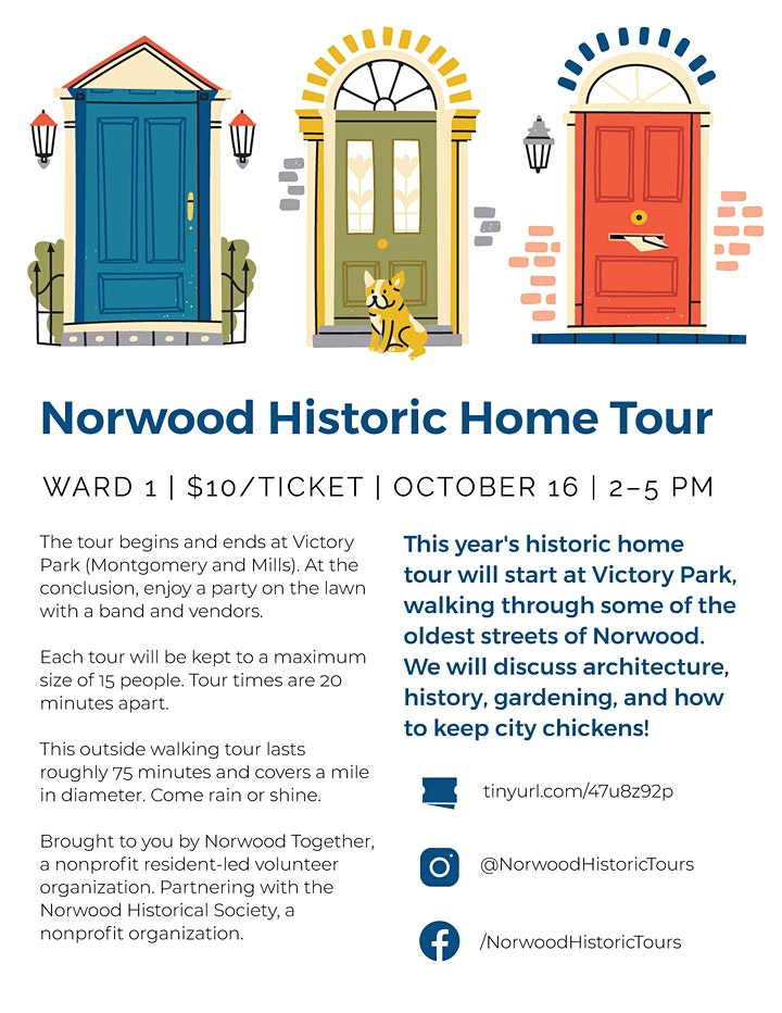 Norwood Historic Home Tour image