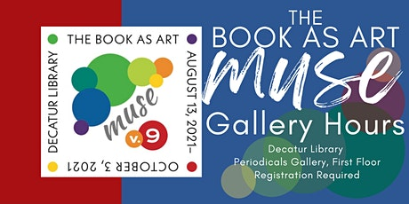The Book As Art  Gallery Tickets tickets