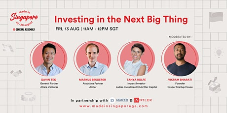 Made in Singapore: Investing in the Next Big Thing tickets