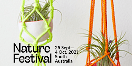 Spring School Holidays: Macramé Hangers as part of the Nature Festival tickets