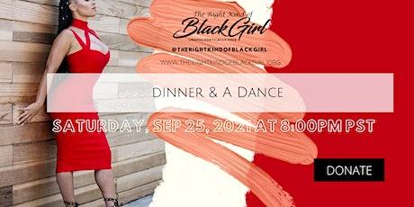 Dinner  &  A Dance tickets