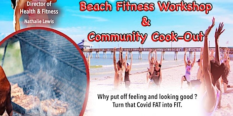 """Dff inc """"Beach fitness & community cook out"""" tickets"""