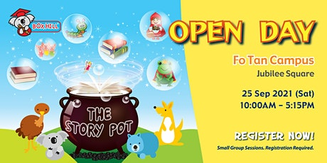 Box Hill - Open Day - The Story Pot @ Fo Tan Campus tickets