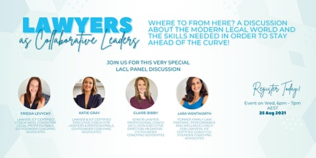 Lawyers as Collaborative Leaders - Panel discussion Tickets