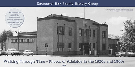 Walking Through Time - Encounter Bay Family History Group tickets