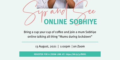 Mothers Group- Sip and See tickets