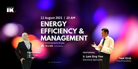 Energy Efficiency & Management! tickets