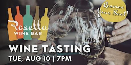 Rosella Wine Bar Tasting Series tickets