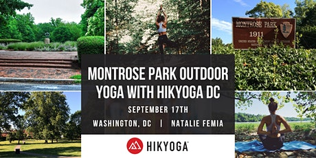 Montrose Park Outdoor Yoga with Hikyoga® DC tickets