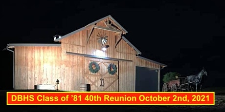 Daniel Boone HS Class of '81 40th Reunion tickets