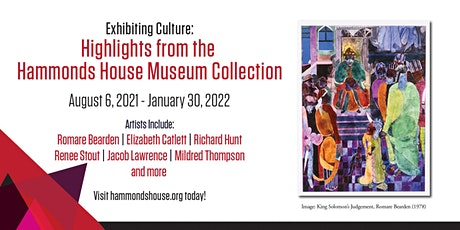 EXHIBITING CULTURE: Highlights from the Hammonds House Museum Collection tickets