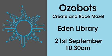 Ozobots Create and Race Maze @ Eden Library tickets