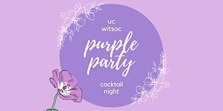 UC Women in Tech Cocktail Night - Purple Party tickets
