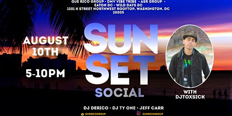 SUNSET SOCIAL AT WILD DAYS DC (EATON ROOFTOP) tickets