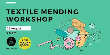 Textile Mending  Workshop tickets