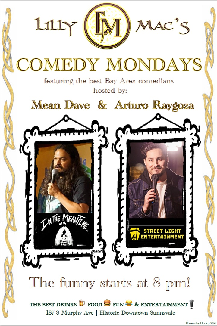 Comedy Night At Lilly Mac's in Sunnyvale image