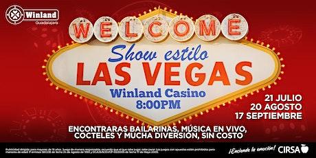 Show estilo Las Vegas boletos
