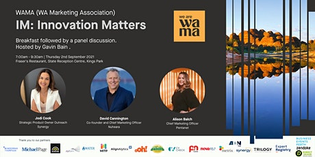 WAMA Presents: IM Innovation Matters | Breakfast Panel Discussion tickets