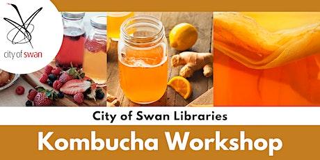 Library Lovers: Kombucha Demonstration & Tasting (Bullsbrook) tickets