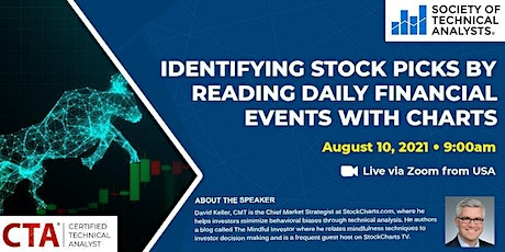 Identifying Stock Picks by Reading Daily Financial Events with Charts tickets