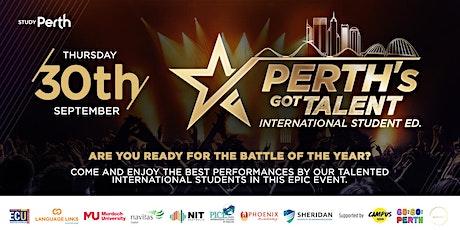 Perth's Got Talent - International Student Ed. tickets
