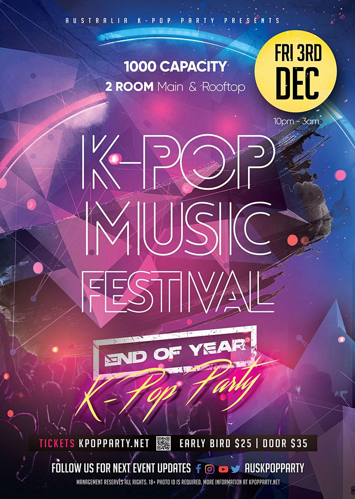 [End of Year Special] Melbourne Kpop Music Fest 2021 [2 Rooms 1000 Capacity image