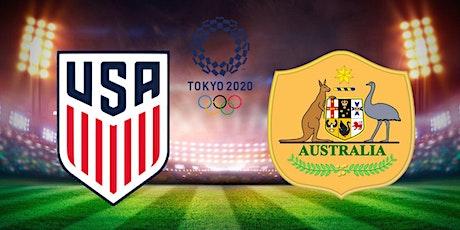 StREAMS@>! (LIVE)-Team USA v Australia women's soccer LIVE ON 5 Aug 2021 tickets