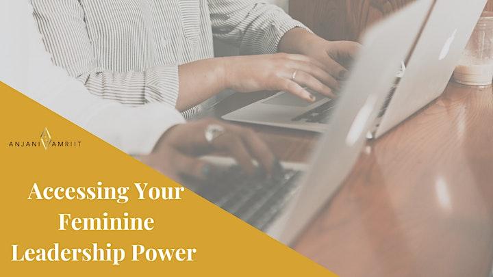 Accessing Your Feminine Leadership Power image