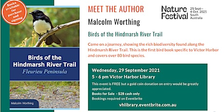 Meet the Author: Malcolm Worthing as part of the Nature Festival tickets
