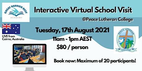 Virtual School Visit tickets