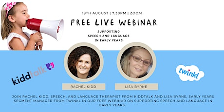 Supporting Speech and Language Development in Early Years. tickets