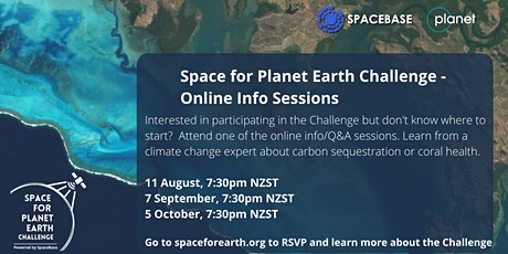 Space for Planet Earth Challenge - Online Info Session tickets