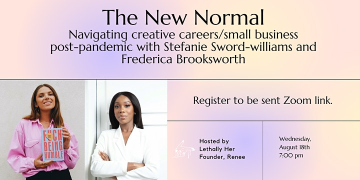 The New Normal: Navigating Creative Careers Post-pandemic image
