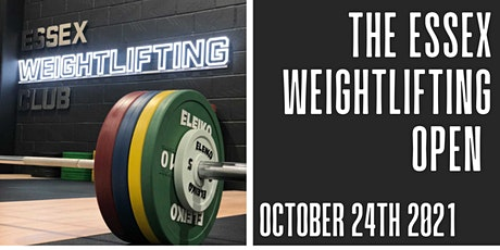Essex Weightlifting Autumn Open Oct 24th tickets