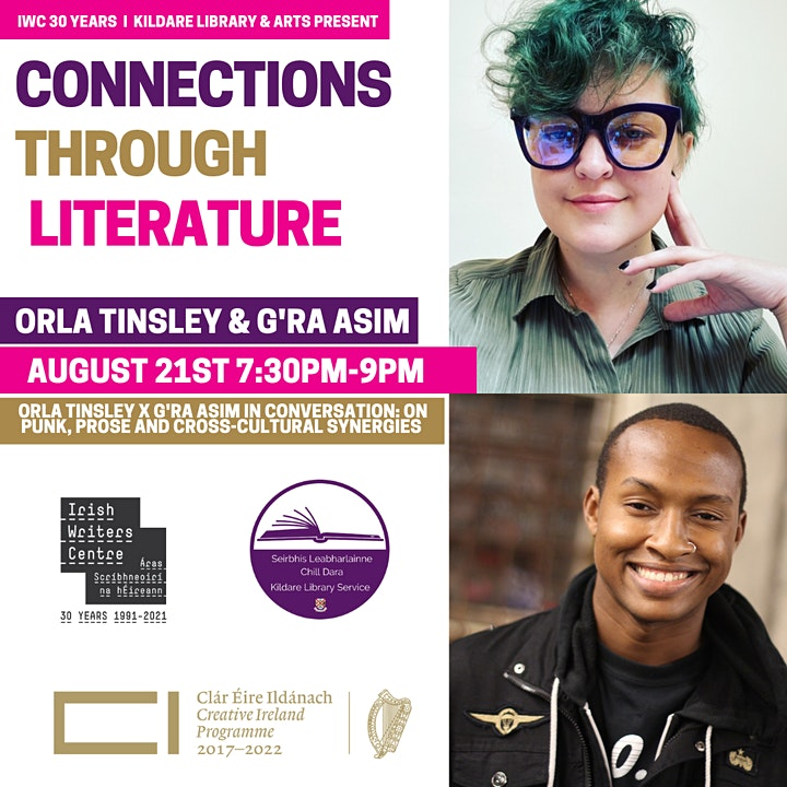 Orla Tinsley X G'Ra Asim: On Punk, Prose And Cross-Cultural Synergies image