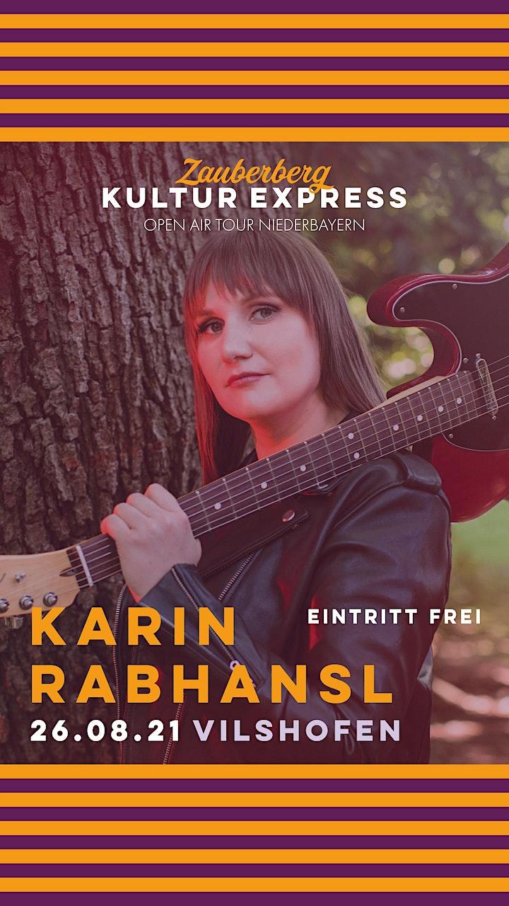 Karin Rabhansl (Eintritt frei) • Vilshofen • Zauberberg Kultur Express: Bild