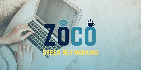 Zoco Speed Networking (ONLINE) Tickets