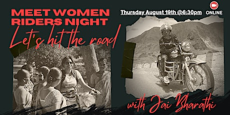 Meet Women Riders Night: Let's hit the road tickets